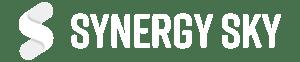 Synergy SKY Logo White