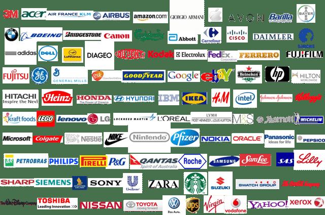 Illustration Fortune 500 companies