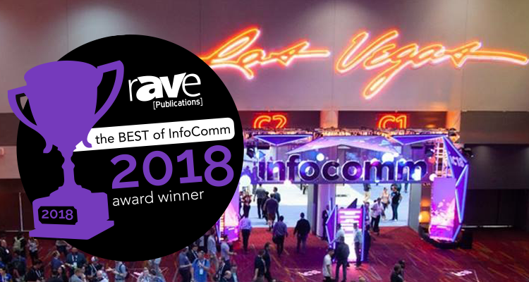 rAVE awards at Infocomm18