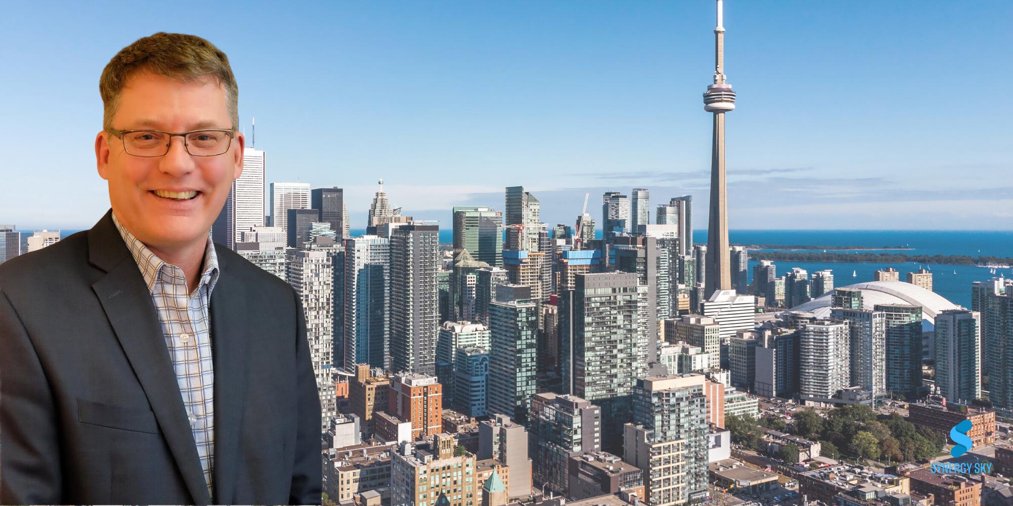 Gabriel Gely takes Synergy SKY to Canada